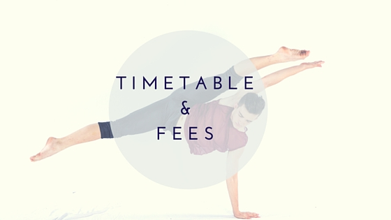 TimeTable&fees