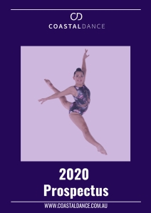 Coastal Dance Prospectus - 2020 Cover copy